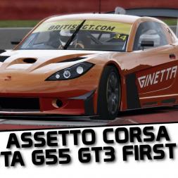 First Look - Ginetta G55 GT3 - Assetto Corsa