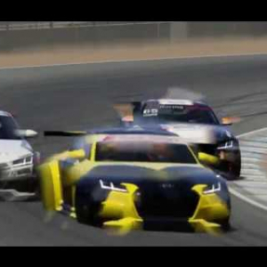 Audi TT Cup - Brands Hatch GP - Race 5 - Assetto Corsa - SimRacingOnline/SimRacingHolland