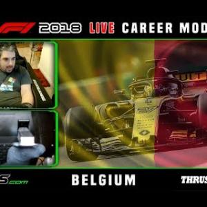 F1 2018 LIVE Career Mode #13 Spa-Francorchamps, Belgium