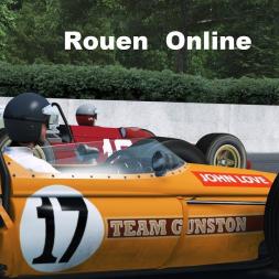 Rfactor 2  60s F1 Rouen Online
