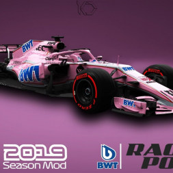 F1 2019 Racing Point BWT Livery | Lance Stroll Gameplay