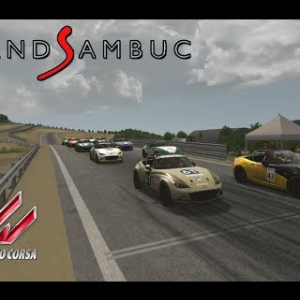 Course en Mazda MX5 Cup - Circuit du Grand Sambuc