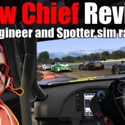 Crew Chief Review [and quick start guide] - Radio engineer and spotter for sim racing!
