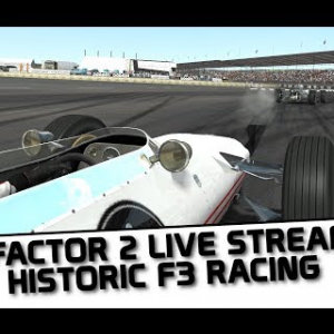 rFactor 2 Historic Formula 3 race at Crystal Palace