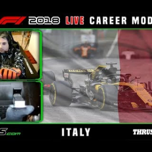 F1 2018 LIVE Career Mode #14 Monza, Italy
