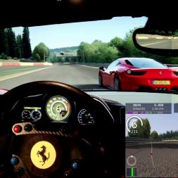 AC - Spa - Ferrari 458 Trofeo - 100% AI race