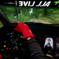 RBR - Ouninpohja 34km epic stage 16:03.845 / with Scott Martin Co-Driver mod v2.1