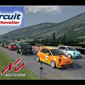 Abarth 500 Assetto Corsa - Circuit de Serre-Chevalier