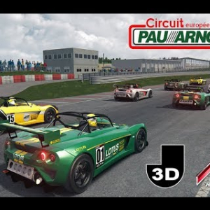 Lotus Eleven GT4 - Circuit Pau-Arnos