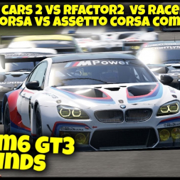 BMW M6 GT3 Sounds - Racing Games