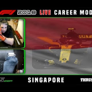 F1 2018 LIVE Career Mode #15 Marina Bay, Singapore
