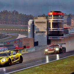 Driving in wet conditions - Assetto Corsa
