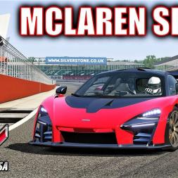 McLaren Senna HOTLAP at Silverstone - Assetto Corsa - 4K (Mod Download)