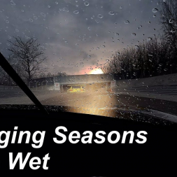 Changing Seasons in the Wet at Brands Hatch GP - Assetto Corsa