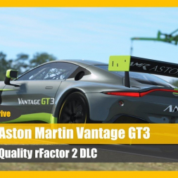 Awesome Fun! The Aston Martin Vantage GT3 for rFactor 2