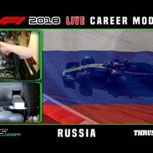 F1 2018 LIVE Career Mode #16 Sochi, Russia
