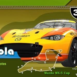 Course Online - Mazda MX5 CUP sur Imola - Serveur AMK