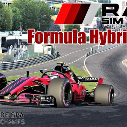 RSS Formula Hybrid 2018 (Halo) HOTLAP at Spa - Assetto Corsa (Mod Download)