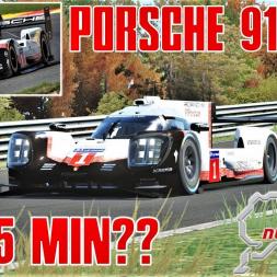 CAN THE PORSCHE 919 EVO GO SUB 5 MINUITES ON THE RING?? - Assetto Corsa