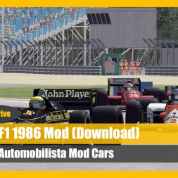 The F1 1986 Mod for Automobilista (DOWNLOAD)