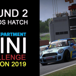 2019 RD MINI Challenge by Extreme Simracing | Round 2 - Brands Hatch