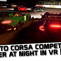 Assett Corsa Competizione in VR at night [ 0.5.2 ]