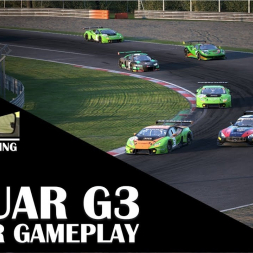 Assetto Corsa Competizione - Jaguar G3 at Zolder Race Gameplay