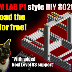 The SIM LAB P1 style 8020 DIY build. Save over 30% than the original!