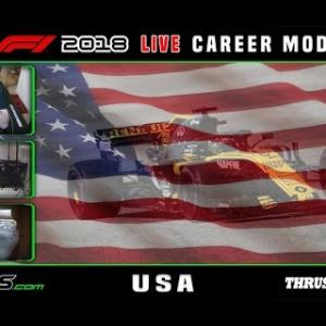 F1 2018 LIVE Career Mode #18 Circuit of the Americas, USA