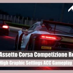 Assetto Corsa Competizione: Midnight Run (High GFX Settings)