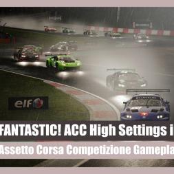 Assetto Corsa Competizione: Storm Race (High GFX Settings)