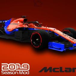 F1 2019 McLaren | Carlos Sainz Gameplay