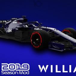 F1 2019 Williams Livery | Robert Kubica Gameplay
