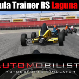 Automobilista - Formula Trainer RS | Laguna Seca [mod track]