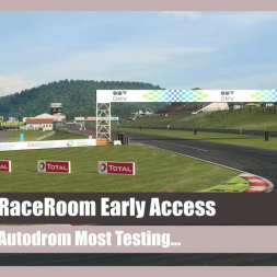 RaceRoom Racing Experience: Testing at Autodrom Most
