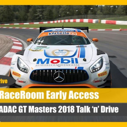 RaceRoom: New Build Talk 'n' Drive at Most in the 2018 ADAC GT Masters