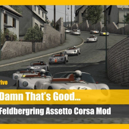 Top Mod! Assetto Corsa Feldbergring Talk 'n' Drive (+Download)