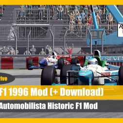 Presenting the Formula One 1996 Mod For Automobilista (+DOWNLOAD)