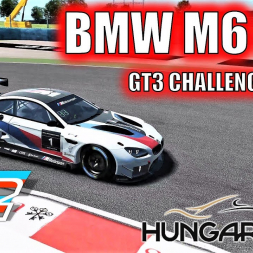 BMW M6 GT3 at Hungaroring - GT3 Challengers Pack - rFactor 2 - 4K