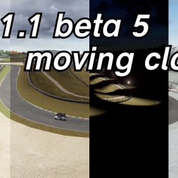 It's Sol 1.1 beta 5 again but this time with moving clouds - Assetto Corsa