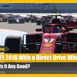 Direct Drive Wheel - Any Good in F1 2018?