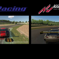 iRacing vs Modded Assetto Corsa graphical comparision