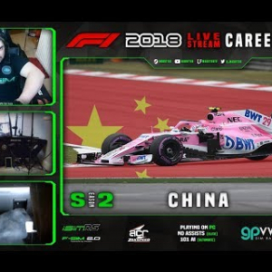 F1 2018 LIVE Career Mode #24 Shanghai, China (S2)