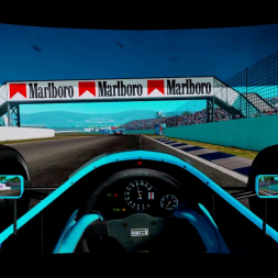 Rfactor 2 - March 881 @ Adelaide 1988 Formula 1 hotlap