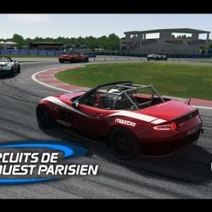 Course en MAZDA MX5 CUP - Circuit de DREUX