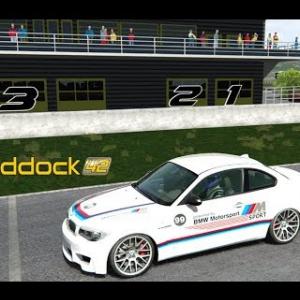Session BMW 1M au circuit du PADDOCK 42
