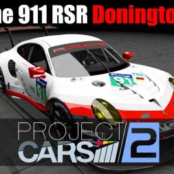Project Cars 2 [VR] - Porsche 911 RSR   Donington Park
