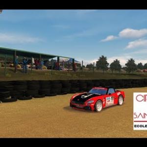Abarth 124 RGT - Circuit de Saint-Bres