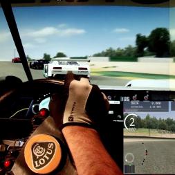 AC - Road Atlanta - Lotus Tiga Esprit - 100% AI race