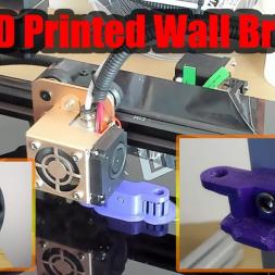 Q1R 3D Printed Wall Bracket